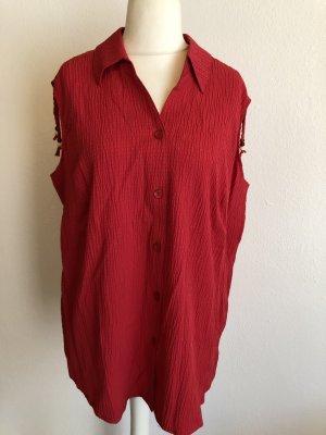 Camicetta lunga rosso-rosso chiaro