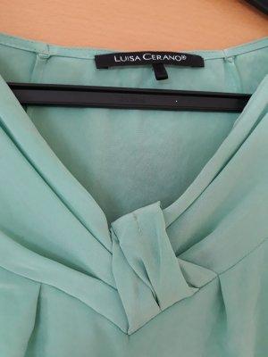 Luisa Cerano Blouse gris vert