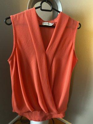 Bluse M 38 orange Lachs Paraphrase