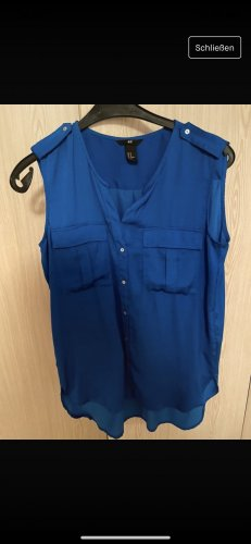 Hennes Collection by H&M Camicetta lunga blu