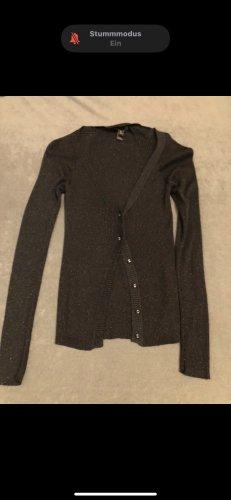 Mango Glanzende blouse zwart