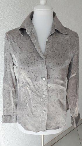 and Koszulowa bluzka czarny-srebrny