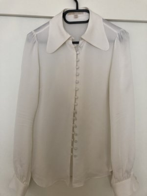 Michael Kors Silk Blouse white