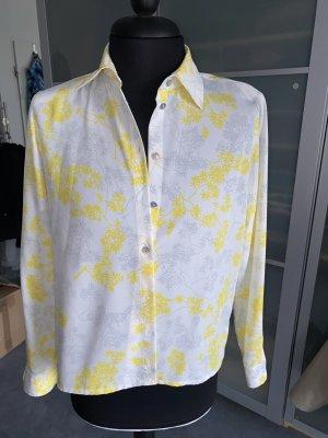 Alexander Long Sleeve Blouse multicolored silk