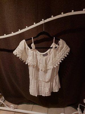 C&A Yessica Carmen shirt wit