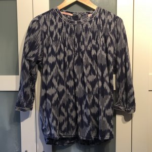 Scotch & Soda Jeans blouse donkerblauw-azuur