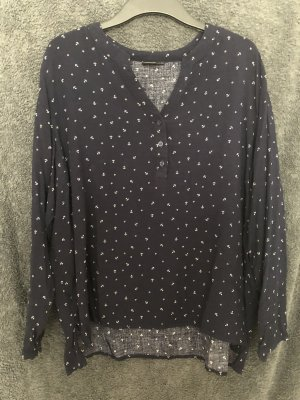 Bluse mit Ankermuster
