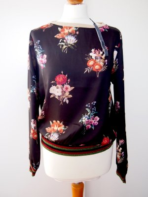 Angela Davis Long Sleeve Blouse multicolored viscose