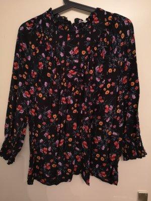 Bluse mit Blumen Print