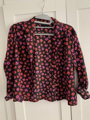 Bluse mit Blumen von wednesday girl xs 34 neu