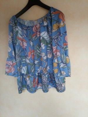 Bluse mit Blumendruck one Size
