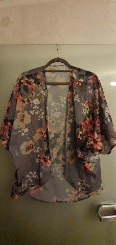Blusa kimono bianco Poliestere