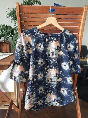 Bluse mit Blumenmuster
