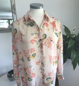 Bluse mit Blumenmuster Sojyaconcept Gr. M