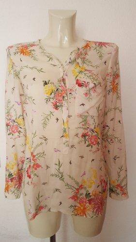 Bluse mit Blumenprint von Zara