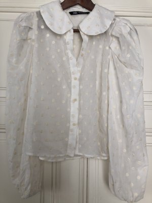 Bluse mit Bubi-Kragen
