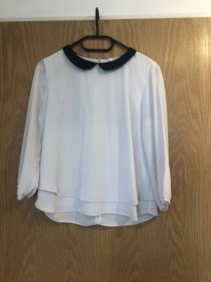 Bluse mit Bübchenkragen Gr. 38