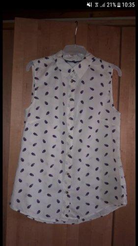 Bluse mit Federn | H&M