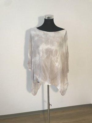 Cartoon Transparante blouse lichtgrijs