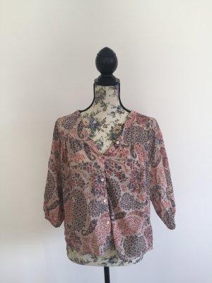 Bluse mit floralem Muster, H&M