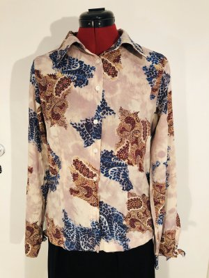 Bluse mit floralem Paisley-Muster