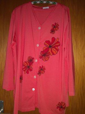 -Bluse mit Flower Print-  XL/ Langarm