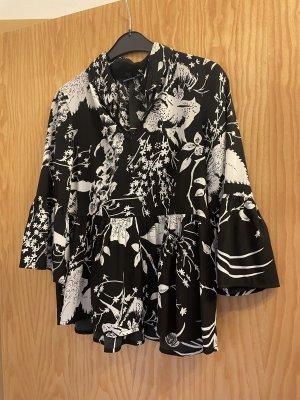 Vero Moda Kimono Blouse black-white