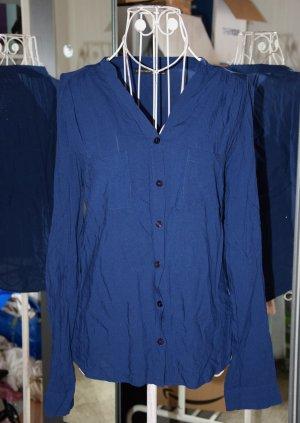 Bluse mit Hemdtaschen* Atmosphere * Blau * Gr. 36