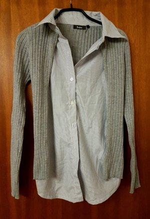 Blouse Jacket light grey-grey
