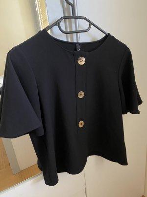 Bluse mit Knöpfen Zara