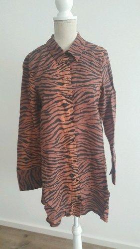 Bluse mit Leopard Muster von Zara Gr.S