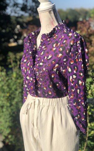 Bluse  mit Leopard Print  von Rich&Royal *Neu*
