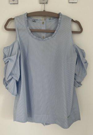 Bluse mit offenen Schultern