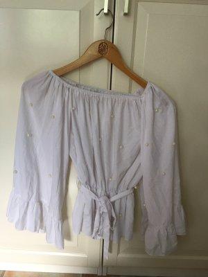 Nakd Bluzka typu carmen biały