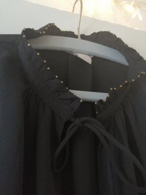 Bluse mit Perlen H&M