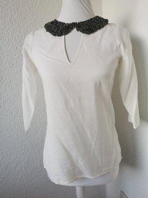 Zara Basic Kołnierzyk koszulowy Wielokolorowy