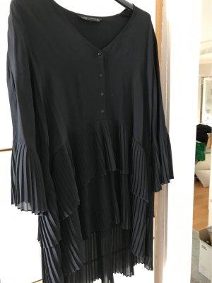 Zara Woman Oversized blouse zwart