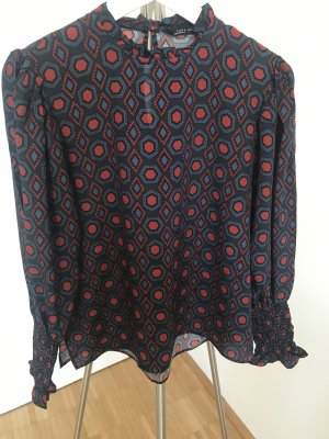Zara Woman Slip-over Blouse multicolored
