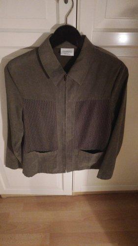 Canda Blousejack groen-grijs-khaki