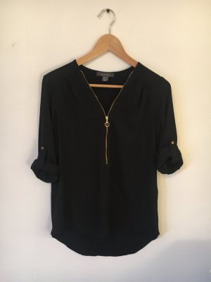 Atmosphere Silk Blouse black