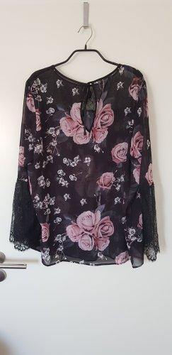 Bluse mit Rosenblüten von Heine