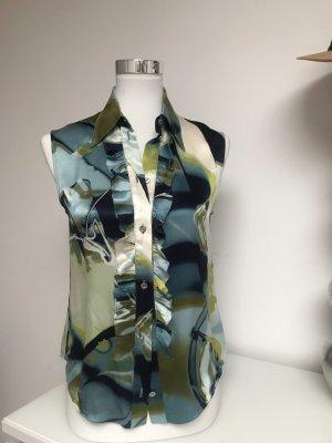 Bluse mit Rüsche von Christian Dior