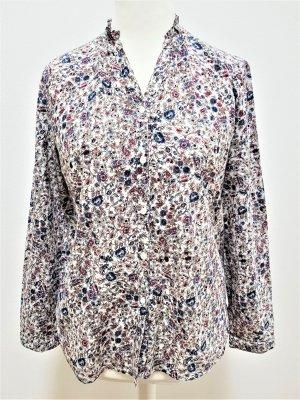 Bluse mit Rüschenkragen von s. Oliver