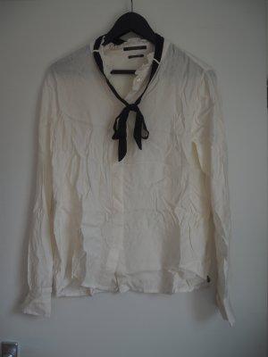 Bluse mit Schleife von Maison Scotch