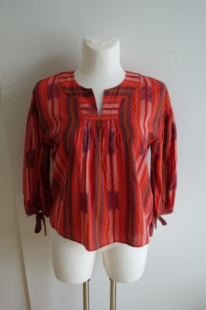 Madewell Tunic Blouse multicolored cotton