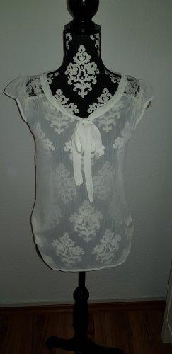 Bluse mit Schluppe