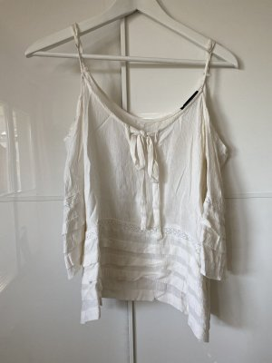 American Eagle Outfitters Ruche blouse wolwit