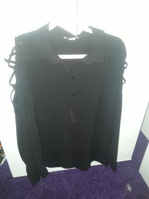 Colletto camicia nero
