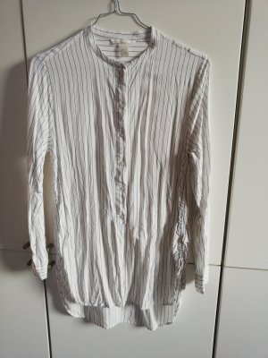 H&M Long Blouse white
