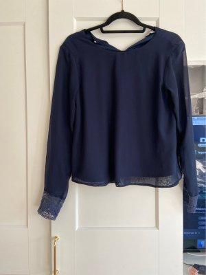 C&A Clockhouse Bluzka z długim rękawem ciemnoniebieski